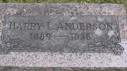 Harry L Anderson