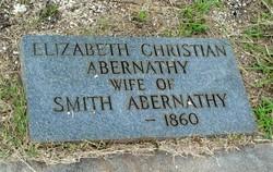 Elizabeth <i>Christian</i> Abernathy