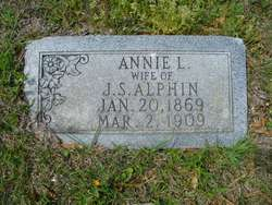 Annie L <i>Pinson</i> Alphin