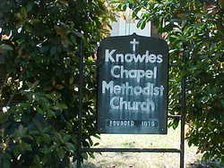 Knowles Chapel Church Cemetery