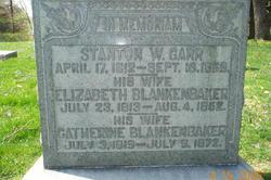 Elizabeth Ann <i>Blankenbaker</i> Gaar