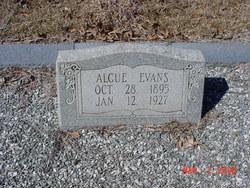 Alcue Evans