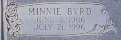 Minnie <i>Byrd</i> Bobbitt