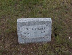 Effie L. <i>Heath</i> Barnes