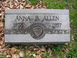 Anna B Allen