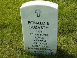 Ronald E Bozarth