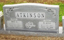 Fred Hilton Atkinson