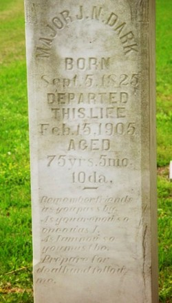 Maj Joseph Neal Dark