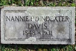 Nannie <i>Seamands</i> Davis