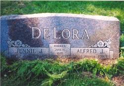 Jennie Johannah <i>Burke</i> DeLora