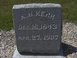 Augustus Hallowell A. H. Kerr