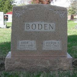 Edith Luie <i>Daum</i> Boden