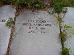 Lula Cooper Russell Armstrong