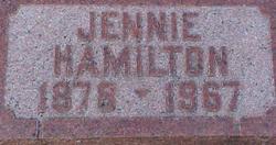 Jennie <i>Mickelwait</i> Hamilton