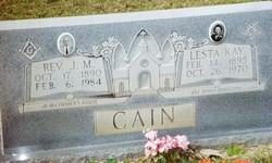 Rev James Monroe Jim Cain