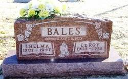 Thelma S. <i>Dotson</i> Bales