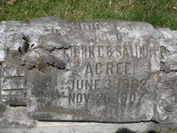 John Acree, Jr