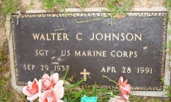 Walter C Johnson