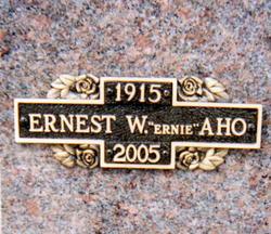 Ernest Wilfred Ernie Aho