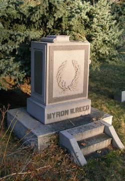 Rev Myron Winslow Reed
