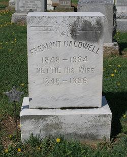 Susan Janette Nettie <i>Caldwell</i> Caldwell