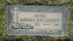 Barbara Jane <i>Hurt</i> Cameron