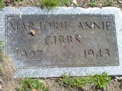 Marjorie A Gibbs
