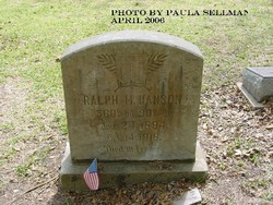 Ralph M Hanson