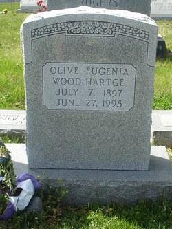 Olive Eugenia <i>Wood</i> Hartge