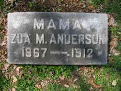 Zua Myrtle <i>Hagman</i> Anderson