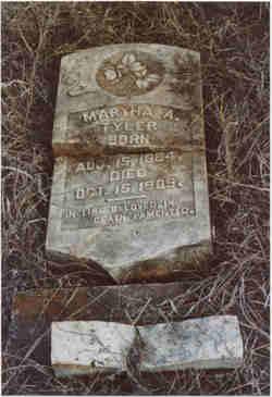 Martha Ann <i>Hargrove</i> Tyler