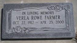 Verla <i>Rowe</i> Farmer