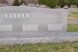Edith <i>Sasser</i> Baker