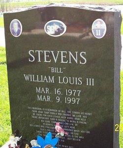 WilliamBill Louis Stevens, III