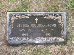 Beverly Jane Bullock-Brown