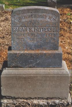 Sarah S. <i>Pinkerton</i> Patterson