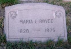 Maria Louisa <i>Wright</i> Boyce