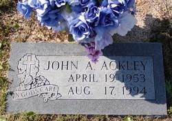 John A Ackley