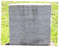 Mary Polly <i>Lawrence</i> Davidson