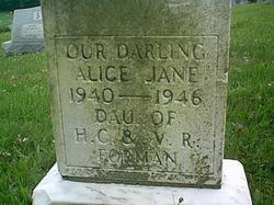 Alice Jane Forman
