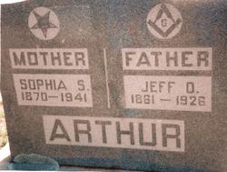 Jefferson Davis Jeff Arthur