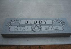 Early L Biddy