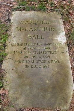 Marjorie <i>MacArthur</i> Ball