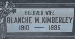 Blanche Miller <i>Walter</i> Kimberley