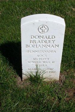 Donald Bradley Bohannan
