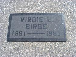 Virdie Lucinda <i>McDaniel</i> Birge