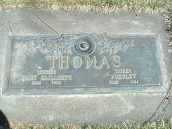 Mary Elizabeth Mollie <i>Chandler</i> Thomas