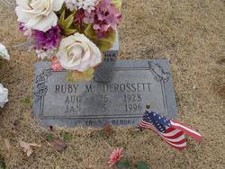 Ruby M. DeRossett
