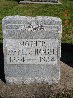 Fannie J. <i>Garretson</i> Hansel