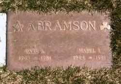 Mabel Isabelle <i>Caldwell</i> Abramson
